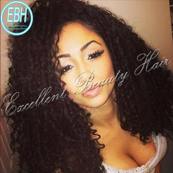 Factory price 6A Indian Curly Full Lace Wigs Lace Front Wig Kinky Curly Indian Lace Wig
