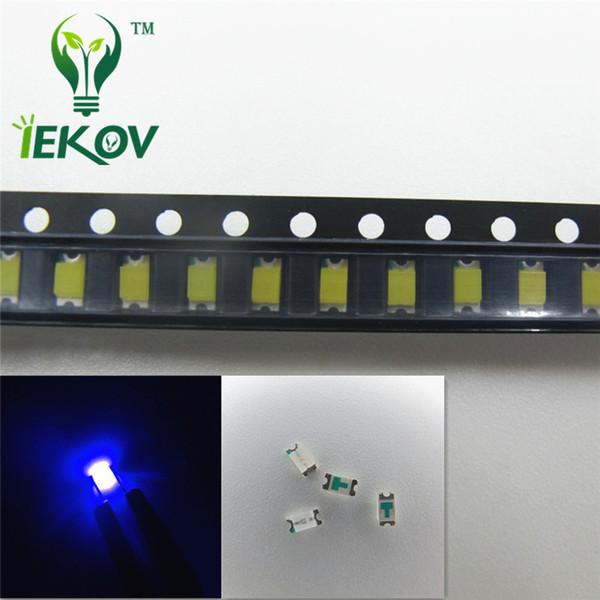 1000pcs/bag SMD 1206 Blue led Super Bright Light Diode 3.0-3.2V DIY 465-475nm High Quality SMD/SMT Chip lamp beads Retail