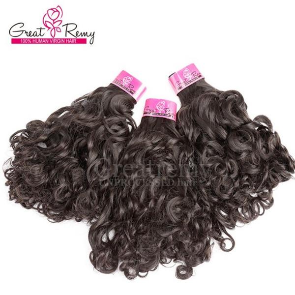3 pcs Brasileiro encaracolado tecer tecelagens de cabelo natural 10-30 polegada feixes de cabelo brasileiro para as mulheres negras dhgate greatremy cabelo transporte rápido