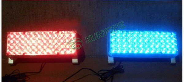 top popular 2 in 1 Car LED Strobe Light 2*48LEDs Car Led Warning Light Led Flash Light with Control Box KF-L3071 2020