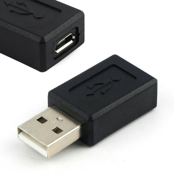 Toptan-USB 2.0 Erkek Mikro USB Kadın Dönüştürücü Adaptör Konnektör Erkek Kadın Klasik Basit Tasarım Stokta!