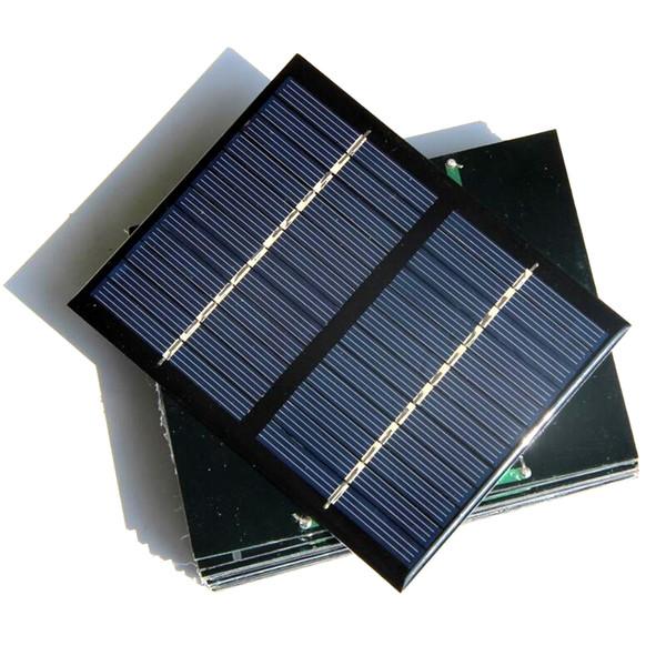 Wholesale 12V 1.5W Mini Solar Cells Polycrystalline Solar Panels DIY Solar Module Education Kits Epoxy 115*90MM 40PCS High Quality Factory