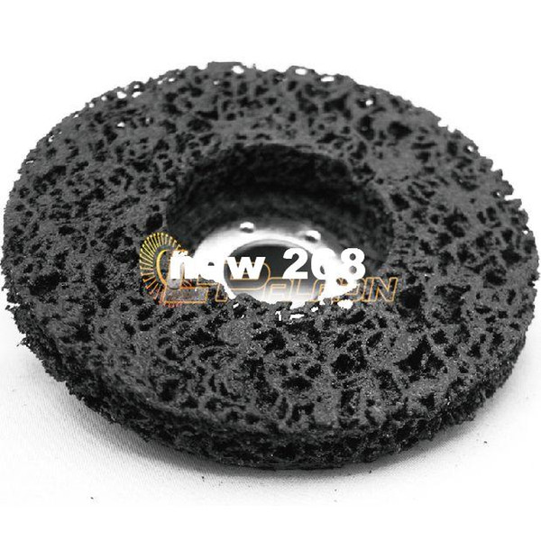 """top popular 10 pieces 4.5"""" Black Diamond Flap Grinding Disc P36 Removal Metal Paint Striping Angle Grinder Accessories 2021"""
