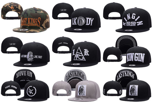 Cheap 2016 LK Last Kings Snapback Hats Street Hiphop Baseball Caps Fashion Adjustable Caps