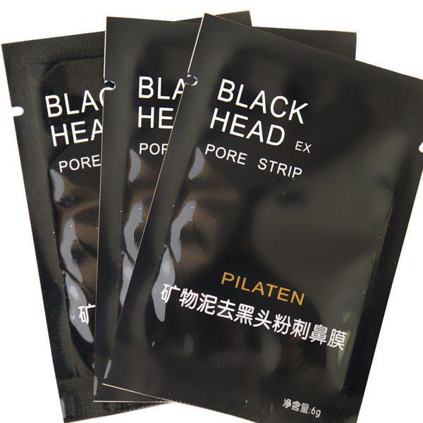 top popular PILATEN Nose Blackhead Remover Mask Facial Minerals Conk Facial Mask Nose Blackhead Cleaner 6g pcsacial Mask Remove Black Head 2021