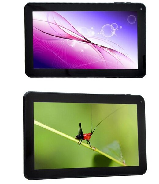 newest 10inch A33 tablet 1GB 8GB/16GB Quad Core Allwinner A33 android 4.4 dual camera 10 inch tablet pc WiFi DHL FREE