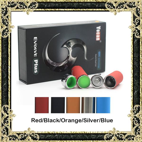 Genuine Yocan Evolve Plus Kit E Cigarette Starter Kits QDC Coils Wax Vaporizer Pen Kits With Extra Quartz Dual Coil 1100mAh Battery