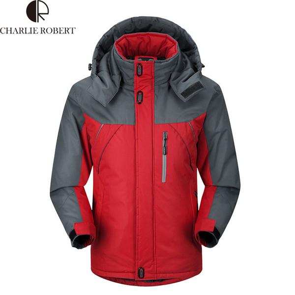 Fall-Hot Sale Winter Jacket Men Windproof &Waterproof Outdoor Sports Ski Camping Climbing Top Quality Jacket Outdoor Coat