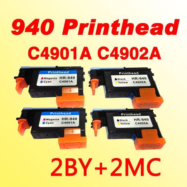 4x tête d'impression C4900A compatible C4901A pour hp940 pour hp 940 imprimante Officejet Pro 8000 8500 8500A