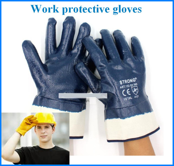 best selling Working Protection Gloves Waterproof Oil Proof Safety Work Security Protective Staff Workers Welding Moto Glove Out225