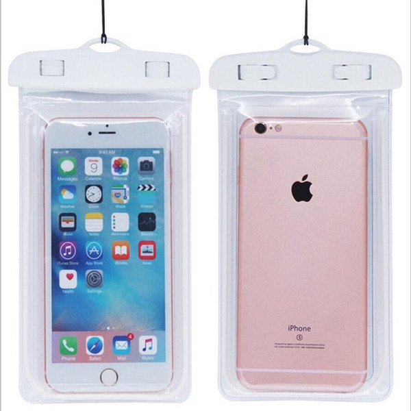 waterproof phone case white