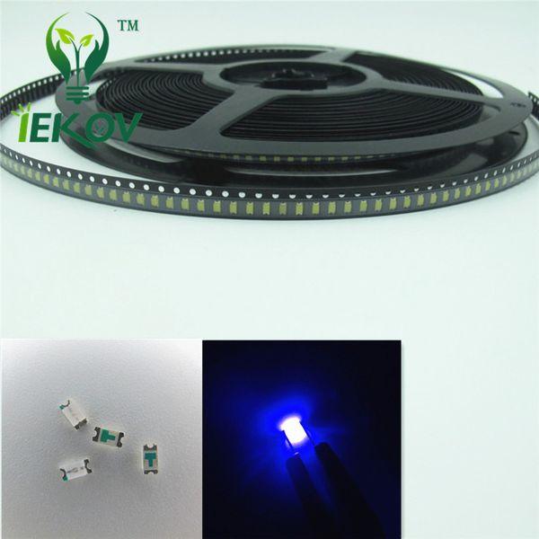 5000pcs SMD 1206 Blue led 3.0-3.2V Super Bright Light Diode DIY 465-475nm High Quality SMD/SMT Chip lamp beads Wholesale Retail