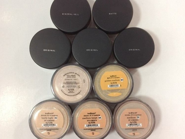 Minerals Foundation original Foundation loose powder 8g C10 fair/8g N10 fairly light/8g medium C25/8g medium beige N20/9g mineral veil.