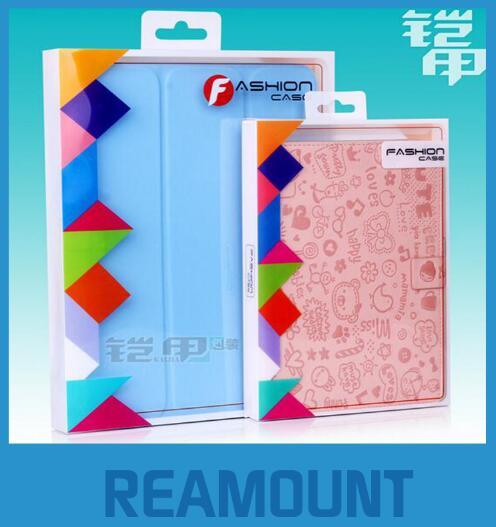 500pcs/lot Universal ipad 234 Case Package PVC Transparent Plastic Retail Packaging Box for ipad for Samsung Tablet