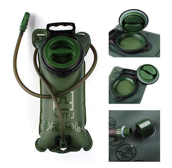 Hydration libre de sac d'eau de DHL / Fedex, 50pcs 2L TPU pour le système de vélo de poche de sac à dos de vessie augmentant