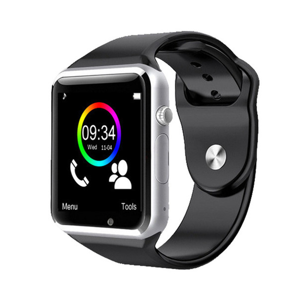 2018 new 5 colour a1 wri twatch bluetooth mart watch port pedometer with im camera martwatch for android martphone