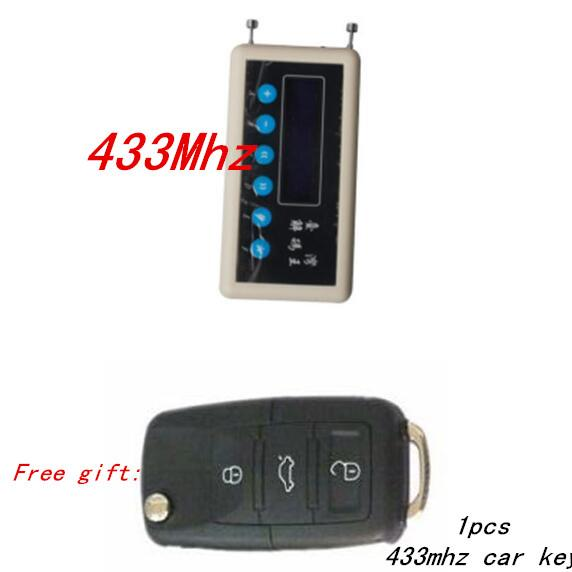 best selling 433Mhz Remote Control Signal Detector wireless remote key decoder scanner + A023 pair cloning Car Key Remote Control