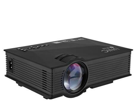 UNIC UC46 Mini Portable Projector 800x480 1200 Lumens Full HD 1080P With WIFI Connection Home Theater LED Video Projector UC46