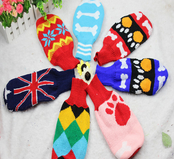 Wholesale Best price for Dog Sweater Pet Puppy Knit Jumper Jacket Warm Clothes Coat Free Shipping