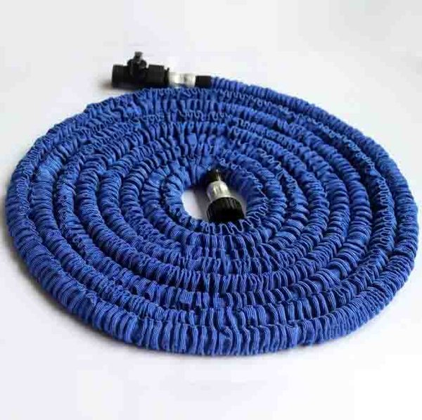 best selling 75ft 100ft Expandable Magic Flexible Garden Hose Aliumum Conector For Car Water Hose Pipe Plastic Hoses To Watering With Spray Gun
