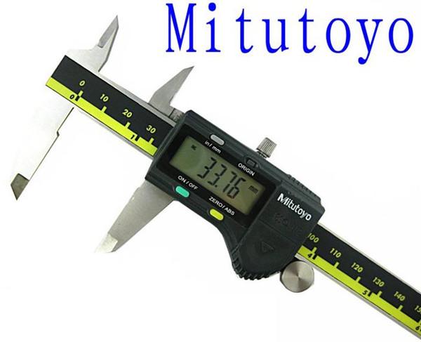 top popular Digital vernier calipers mitutoyo 0-150mm Digital Caliper Accuracy 0.01mm Digimatic calipers Measurements Testers 500-196 2021