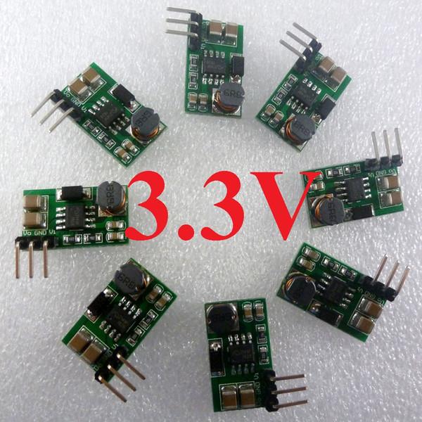 10pcs DD0606SA_3V3 0.9-3.3V a 3.3V DC / DC Impulse el módulo del convertidor de voltaje PWM PFM que cambia el tablero de la fuente de alimentación