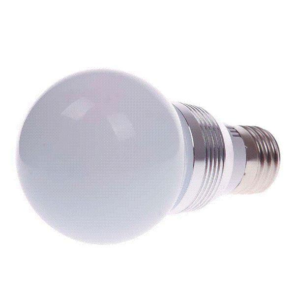 E27 5W RGB LED Magic Light Bulb Lamp + IR Remote Control 16 colori Cambia HITM # 53459