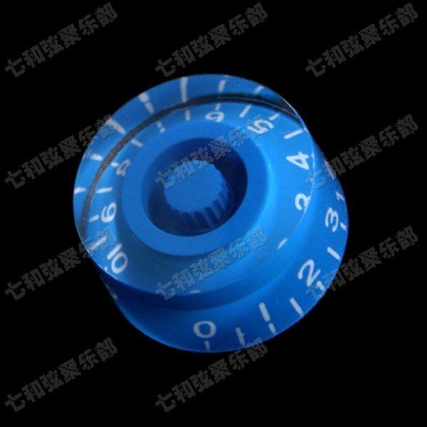 Mavi Gitar Parçaları Elektro gitar topuzu kap potansiyometre kap gitar aksesuarları