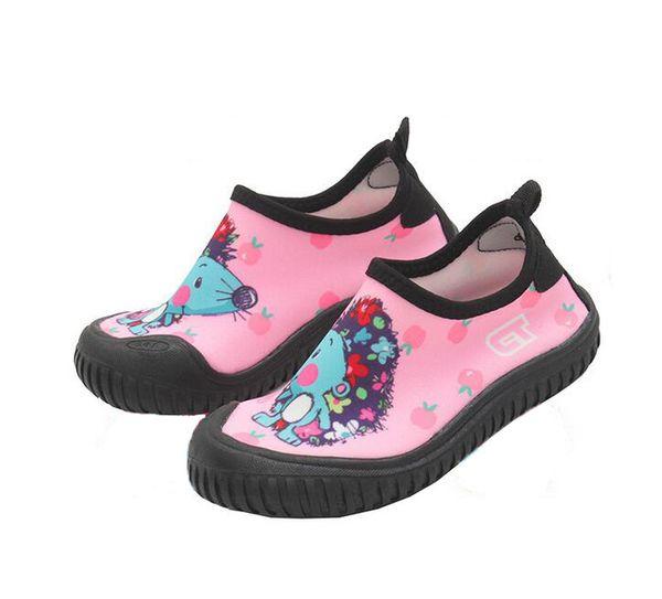 47afba0b4d9c Quick Dry Boys Shoes Hedgehog Print Sport Running Anti-slip Swimming Pool  Beach Girls Sandy beach Developing Shoe Sneakers