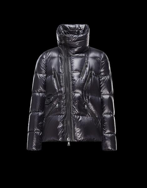 Sıcak Satmak 2019 kadın aşağı ceket kadın orta-uzunluk siyah aşağı ceket Kadınlar için Sıcak Ceket Yüksek Kaliteli Ceket yıldız tarzı Ücretsiz Nakliye