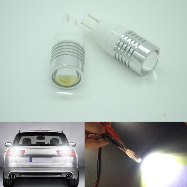 30pcs blanco T15 921 194 T10 LED de marcha atrás marcha atrás Luces bombilla lámpara de alta potencia 12v