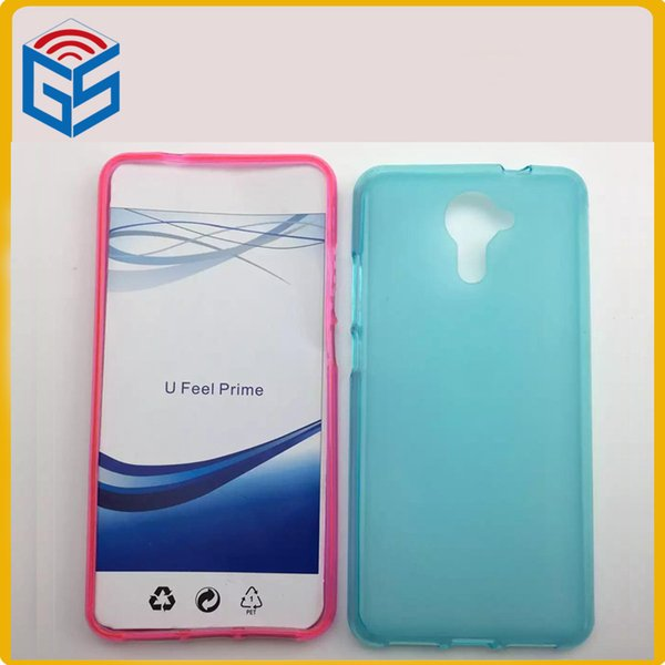 Wholesale Various Color Matte Pudding Soft Gel TPU Back Cover Phone Case For Wiko U Feel Prime