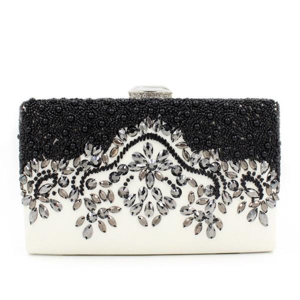 Großhandel Diamond Clutches Schwarz Lackleder Abendtasche Clutch Handtaschen Geldbörsen Damen Handtaschen Aus Schwarzem Leder Clutch Geldbörse Von