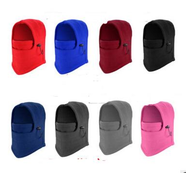 Windproof counter terrorism caps thickened caught wearing earmuffs Hat Balaclava face mask scarf winter wind and tiger Hat 100 pcs