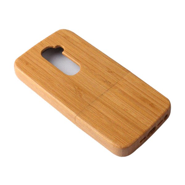 Newest!! Phone Cases For LG G2 Wood Case For Optimus D802 Genuine Bamboo Cover Luxury Wooden Back Cute Covers