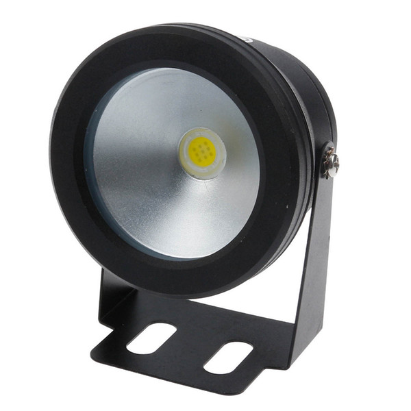 Cheap Led Underwater Light 10W DC 12v RGB Cool White Warm White Waterproof IP68 Fountain Pool Lamp Black Cover Body For Outdoor