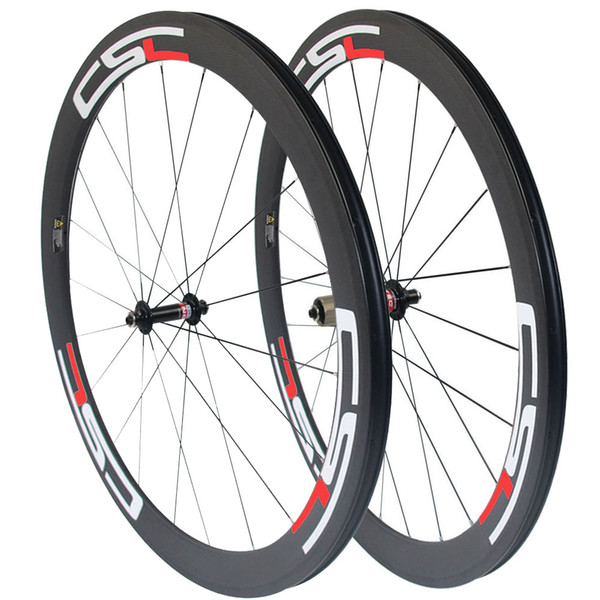 CSC T800 50mm Clincher Tubular Tubelss carbon road bike wheels racing bicycle wheelset Novatec A291SB/F482SB Hub