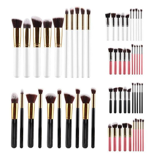 10pcs /Set Makeup Brushes Professional Set Cosmetics Brand Foundation Brush tools For Face Make Up Beauty Free Shipping