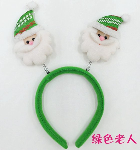 Green Santa 7pcs