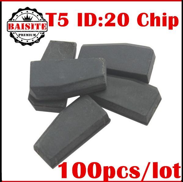 Promotion price!!100% original 100pcs/lot id t5 transponder chip blank t5 ID20 transponder chip t5 ID:20 free dhl