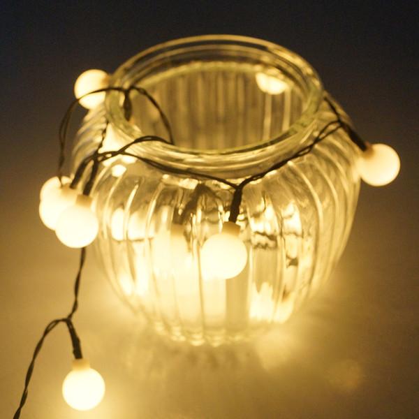 5 м / 16.5 футов USB 50 Огней Шарик LED Красочные Изменение Строка Лучше всего Для Наружной Крытой Партии / Свадьба / Рождество Деко --- Fedex