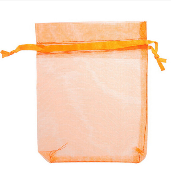 17*23 cm Organza Bag Jewelry Pouch Candy Bags Drawstring Organza Pouch Wedding Favor Gift Multi Colors 6.7*9 inch