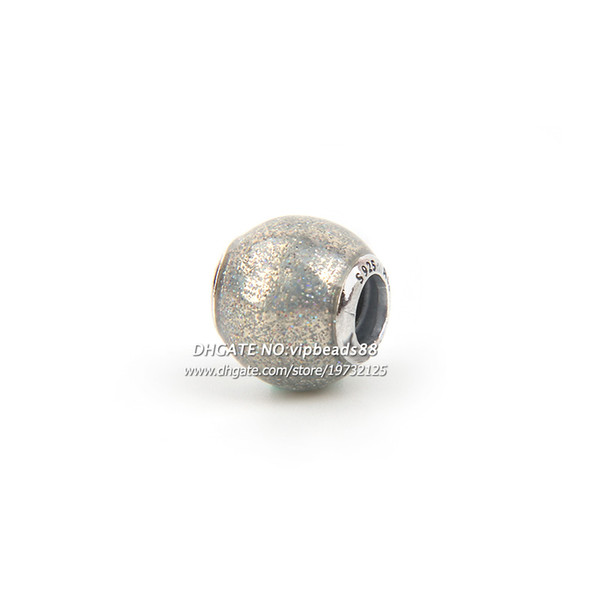 New 2017 Gray Fashing Charm beads 925 Sterling Silver For Pandora charm Bracelets Beads & Jewelry Making