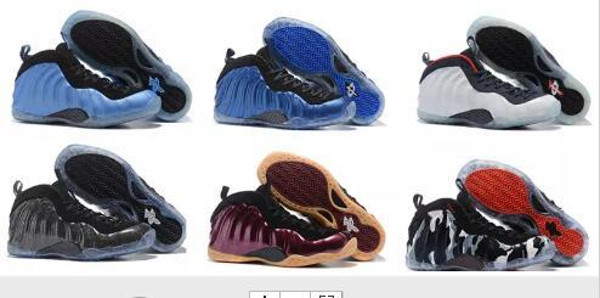 Verkauf Air Basketball Schuhe Turnschuhe Herren Blue Man One Pro Sportschuhe Pearl Penny Hardaway Größe: 7-13 mit Box