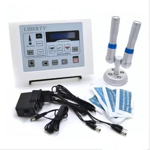 Liberty dermographe maquillage Machine de tatouage numérique de maquillage permanent avec interrupteur à pied