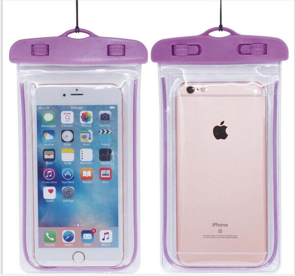 waterproof phone case purple