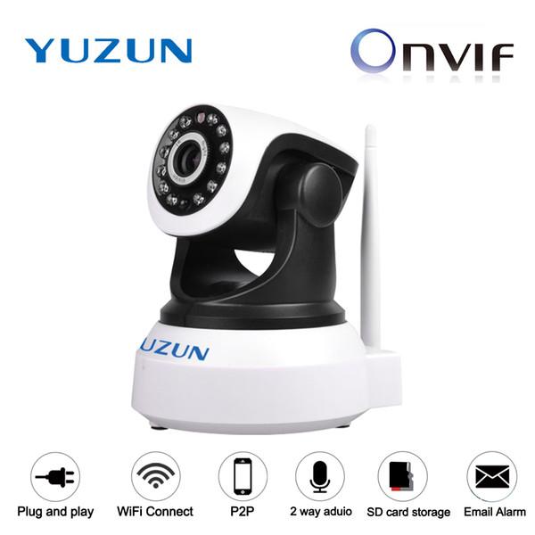 HD 720P Onvif Wireless P2P IP Video Surveillance Home Security Mini Wifi Smart home robot IP PTZ camera baby monitor camera