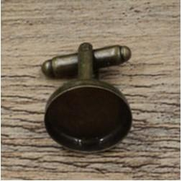 Antique Bronze 16MM Blank