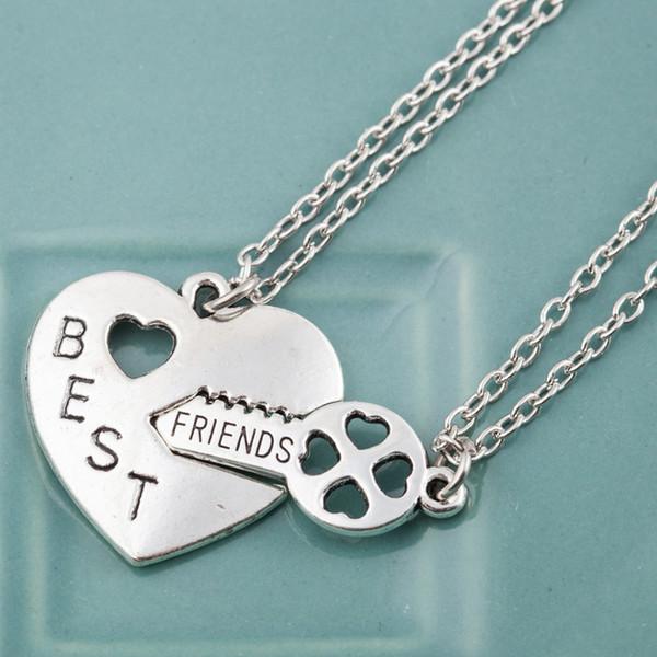 Wholesale Bff Best Friends Couple Friendship Heart & Key Puzzle ...