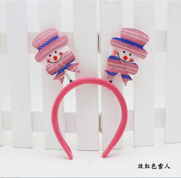 Pink Snowman 7pcs